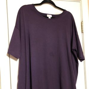 LuLaRoe Tops - Lularoe solid purple irma XL